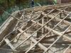 Struttura tetto in legno originale