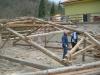 Rimozione tetto in legno