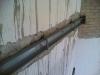 Consolidamento solaio in ferro con posa di un profilato UPN di collegamento