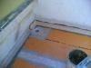 Impermeabilizzazione terrazzo con sistema Schluter Ditra particolare fascetta di risvolto