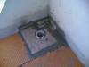 Impermeabilizzazione terrazzo con sistema Schluter Ditra particolare piletta di scarico