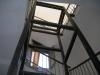 Struttura in acciaio per ascensore