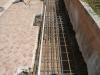Armatura fondazione portico