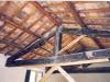Prima dei lavori veduta tetto dall' interno