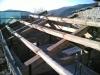 Orditura primaria tetto in castagno
