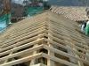 Orditura secondaria tetto in castagno
