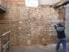 Preparazione murature per intonaco armato (perfori)