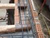 Nuovo cordolo in acciaio per ancoraggio travi solaio