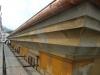 Stuccatura e preparazione cornicione