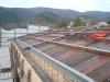 Formazione tetto in acciaio e legno