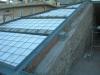 Formazione copertura con cordolo perimetrale in acciaio