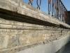 Cornicione della torretta prima del restauro