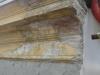 Cornicione prima del restauro parte frontale