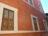 Particolare finestre Trompe l'Oleil