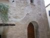 Particolare facciata stuccata con malta storica