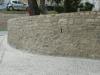 Muro di contenimento terminato