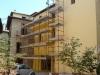 Tinteggiatura facciata Piazza della Genga