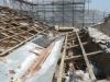 Demolizione copertura in legno
