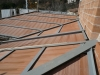 Nuova copertura in ferro e laterizio