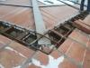 Cordolo in cls tetto