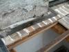 Collegamento cordolo in acciaio