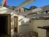 Demolizione copertura in cemento