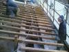 Ancoraggio zampini nuovo sporto di gronda ai cordoli in acciaio